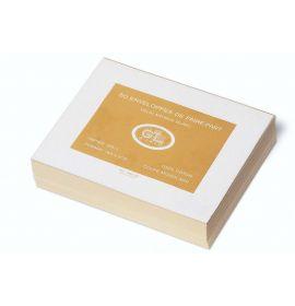 #266/55 G. Lalo Open Stock French Wedding Envelopes 8 x 6 ? Deckle edge Antique White 50 cards