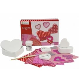 Avenue Mandarine - Decopauge Craft Kit - Hearts