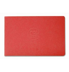 """Clairefontaine - Sketch Book - Crok' Book - White Paper - 24 Sheets - 6 3/4 x 4 1/4"""" - Red Cover"""