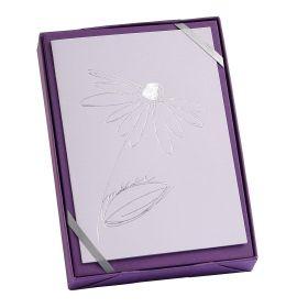 "G. Lalo - Tresor Design - 5 Cards and Envelopes - 4 1/4 x 6"" - Daisy"