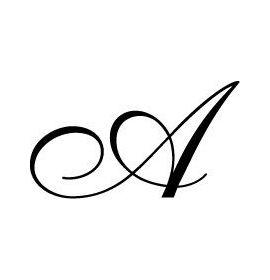 Seal Script Letter w/o Handle