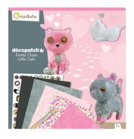 Avenue Mandarine - Decopauge Craft Kit - Cats