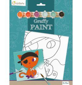 Avenue Mandarine - Graffy Paint - Pirate Cat