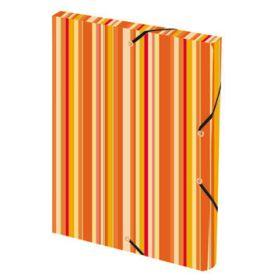 #59445 Cirque Polypro Filing Box Orange 9 3/4 x 13