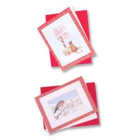 #950/30L Holiday Season Blank Cards - Blank - Bird